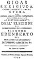 Georg Christoph Wagenseil - Gioas re di Giuda - titlepage of the libretto - Steyer 1774.png