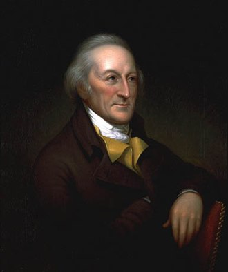 George Clymer - Portrait by Charles Willson Peale