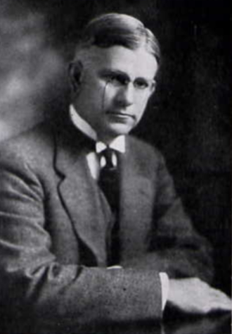 George H. Denny - Denny from the 1919 War Corolla yearbook