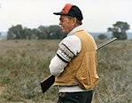 George H. W. Bush hunting in Texas.jpg