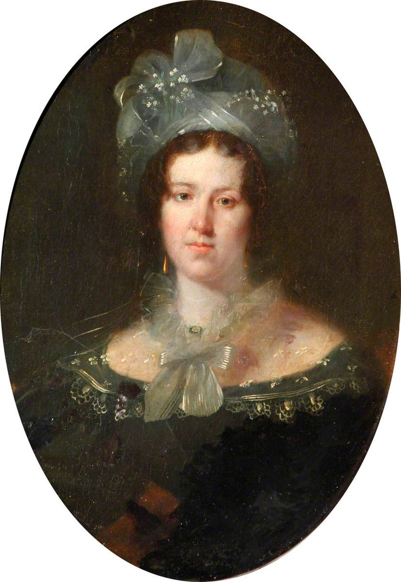 Джордж Хейтер (1792-1871) - Портрет дамы (называемой «мисс Джонс») - 1430464 - National Trust.jpg