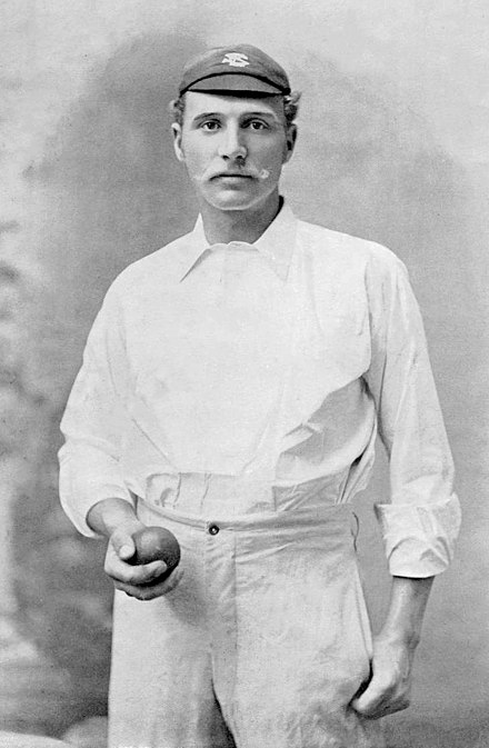 Of bowlers who have bowled at least 600 balls in Test cricket, George Lohmann has the lowest career bowling average, 10.75. George Lohmann 1895b.jpg
