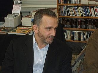 George Pelecanos - Image: George Pelecanos aux Quais du Polar, Lyon 2008