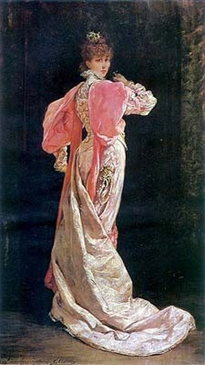 1897 in art - Image: Georges Jules Victor Clairin (1843 1919), Sarah Bernhardt (1844 1923) as the Queen in 'Ruy Blas' . 1897