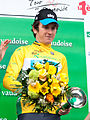 Geraint Thomas (podium) - TDR 2012 (cropped).jpg