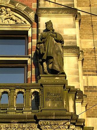 Landgericht Bremen - Image: Gerichtsgebaeude 061