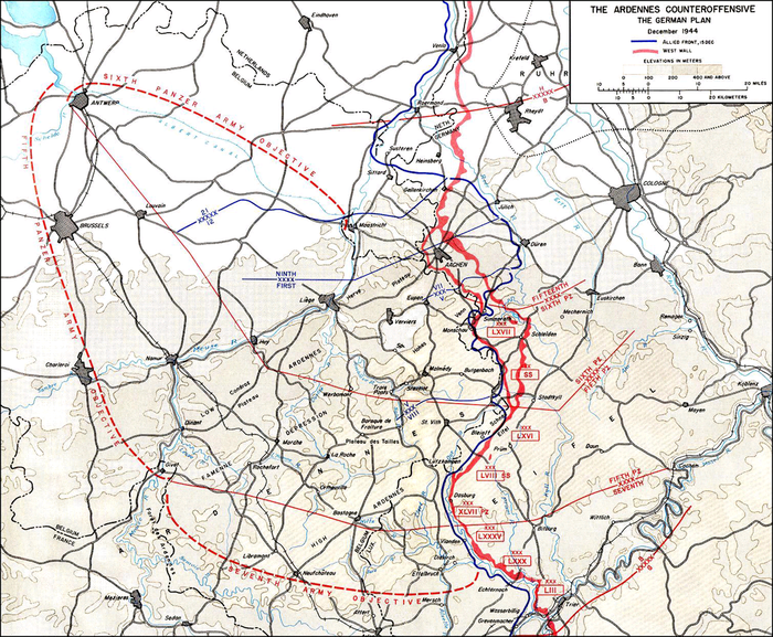 The German plan German Wacht Am Rhein Offensive Plan.png