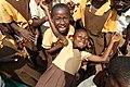 Ghanaian school building nears completion (9372421292).jpg