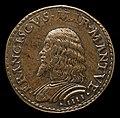 Gian Marco Cavalli, Francesco II Gonzaga, 1466-1519, 4th Marquess of Mantua 1484 (obverse), probably 1484-1506, NGA 44461.jpg