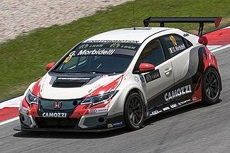 JAS Motorsport - Image: Gianni Morbidelli 2015 TCR Int Malaysia