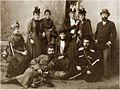 Gigo Eliava and his family. Photo by V. Egorova. Batumi, 1884.jpg