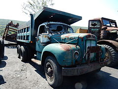 Gilberton Coal Co Old Trucks, Gilberton PA 02.JPG