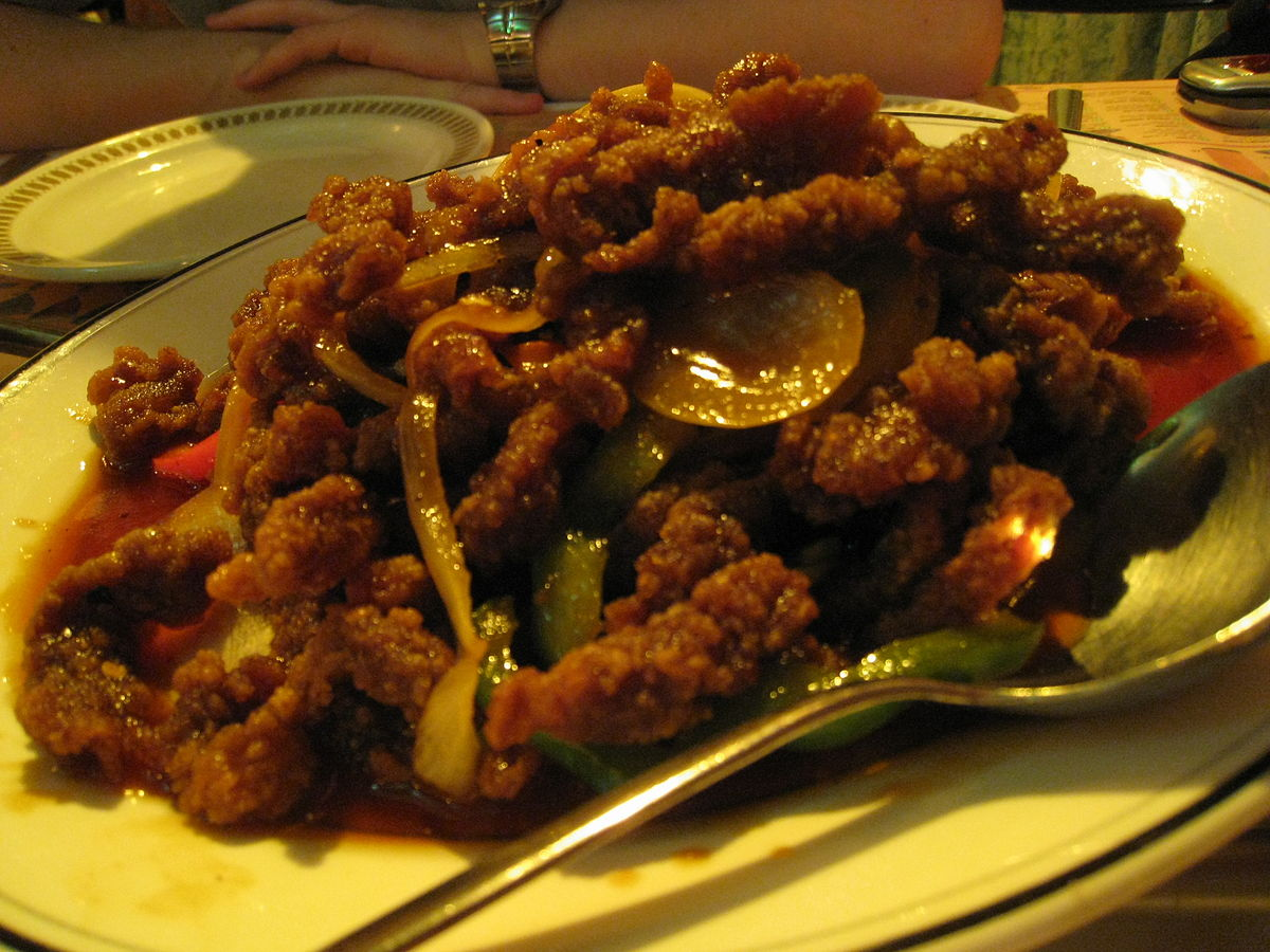 Ginger beef wikipedia for Asian cuisine saskatoon