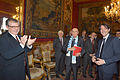 Giorgio Napolitano meets EUI Researchers (12769752093).jpg