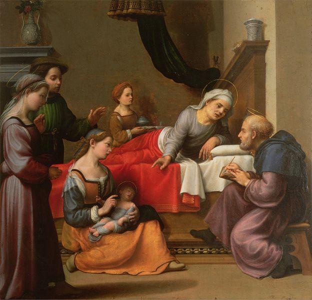 File:Giuliano Bugiardini - La nascita di San Giovanni Battista.jpg