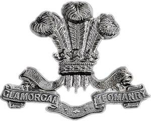 Glamorgan Yeomanry - Glamorgan Yeomanry cap badge