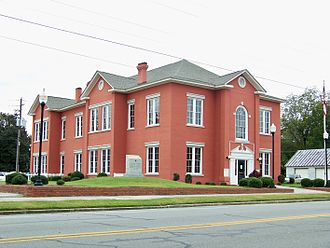 Glascock County, Georgia - Image: Glascock County Courthouse