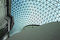 Glass and steel roof of the Great Court, British Museum, London - panoramio (12).jpg