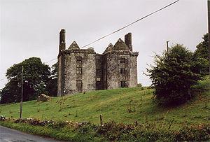 Glinsk, County Galway - Glinsk Castle