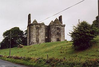 Burke baronets - Glinsk Castle –   the seat of the Burke Baronets of Glinsk