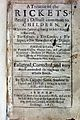 Glisson, A treatise of the rickets, 1651 Wellcome L0028412.jpg