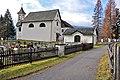 Gnesau Zedlitzdorf Friedhof Filialkirche hl. Dreifaltigkeit Aufbahrungshalle 23112012 8330.jpg