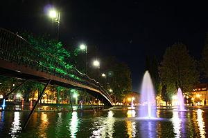 Gołdap - Water fountain