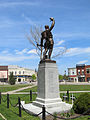 Goderich Court House Statue Rear May 2012.jpg
