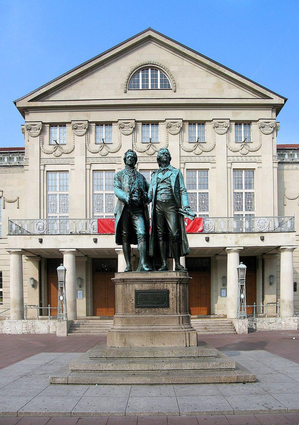 Goethe Schiller Weimar