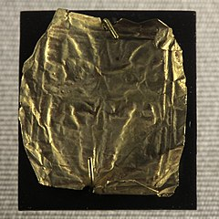 Golden plaque-MNB 95