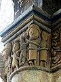 Gournay-en-Bray (76), collégiale St-Hildevert, chœur, 3e grande arcade du sud, chapiteau côté est 4.jpg