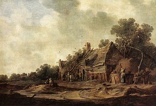 Goyen 1633 Peasant Huts with a Sweep Well.jpg