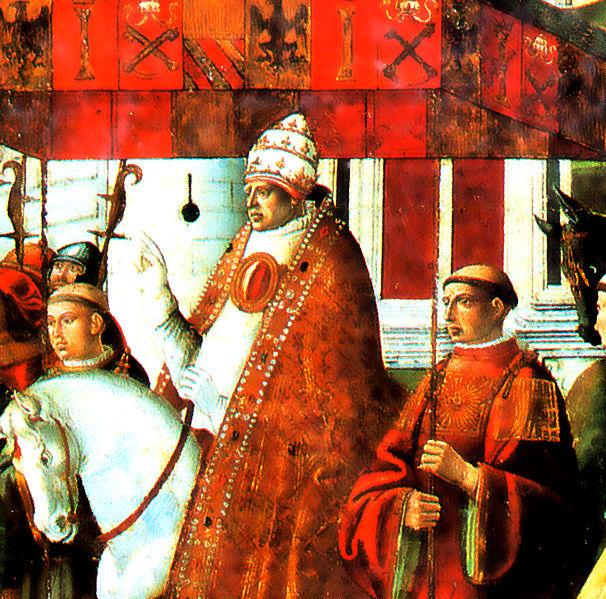 Representación de Gregorio XI