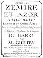 Grétry Zémire et Azor Partitur Widmung Madame Du Barry 1772.jpg