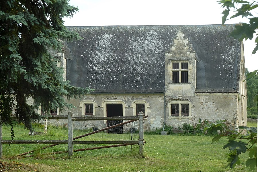 English:  Tithe barn of Blaison, Blaison-Gohier|, Maine-et-Loire, France.
