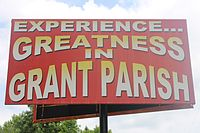 Grant Parish sign off U.S. Hwy. 71 IMG 6631.JPG