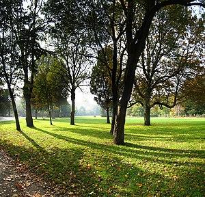 Oosterpark (Amsterdam) - Image: Grasveld Oosterpark