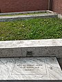 Grave of Dr. Mohammad Martuza (1931–1971) by the side of DU central mosque.jpg