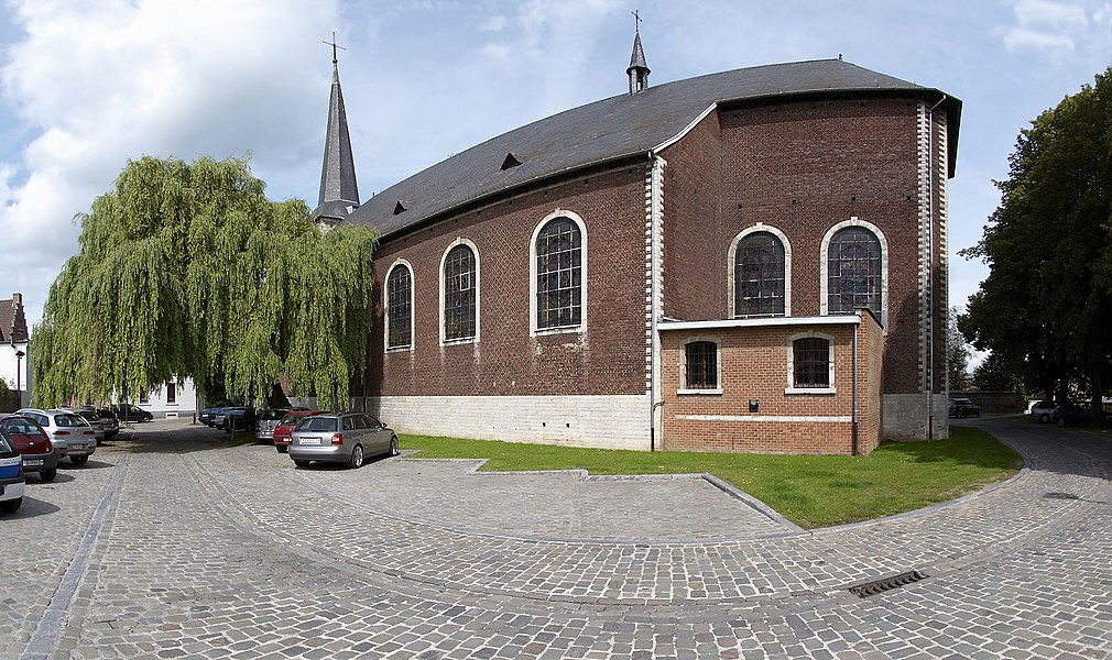 Saint Georges church of Grez-Doiceau, Belgium
