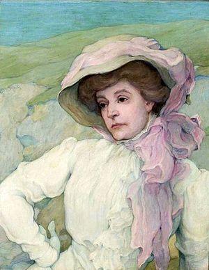 Stanisław Grocholski - Image: Grocholski Portrait of a woman