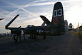 Grumman F7F-3P Tigercat Here Kitty Kitty BuNo 80390 NX700F LSideRear Dawn SNF 04April2014 (14606448363).jpg