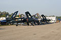 Grumman F7F Tigercat Trio RSideFronts Dawn SNF 04April2014 (14606446833).jpg
