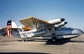 Grumman G-44 Widgeon - Grumman J4F-1 of the United States Coast Guard preserved at the National Museum of Naval Aviation at Pensacola, Florida in 2002