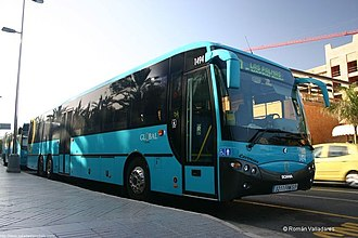 Gran Canaria - A Gran Canaria bus