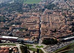 Guastalla: Vista del centro storico