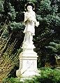 GuentherZ 2011-04-09 0036 Hohenau an der March Pfarrkirche Statue Johannes Nepomuk.jpg