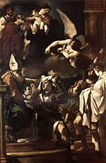 Guercino - St William of Aquitaine Receiving the Cowl - WGA10936.jpg