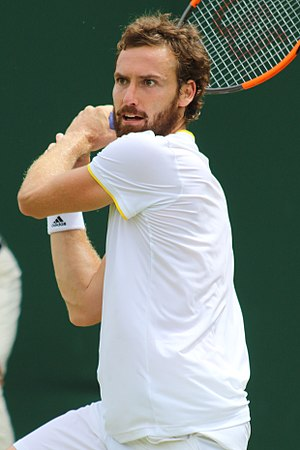 Ernests Gulbis - Gulbis at the 2017 Wimbledon Championships