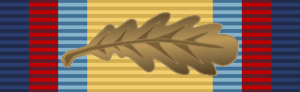 Gulf Medal - Image: Gulf Medal Ribbon with Mi D