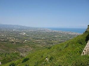 Gulf of Corinth - Gulf of Corinth from Acrocorinth